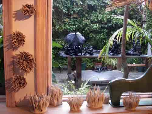Brooke Hine's ceramics @ Photo West Gallery.