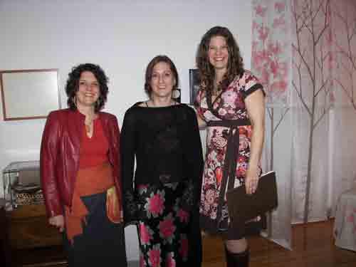 Marisha Simons, Kara Rennert & Amie Potsic (CFEVA Director).