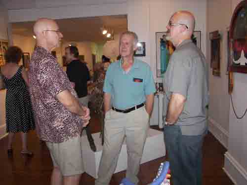Ted Warchal, Alden Cole and David Foss