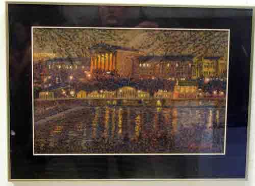 Arthur Ostroff @ Likable Art in City Hall.