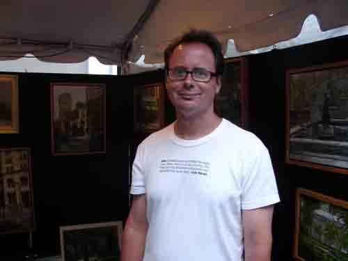 Artist Mark Campana