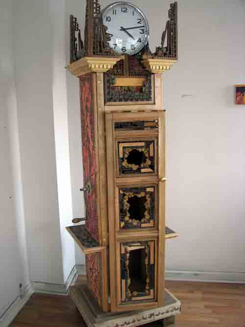 Scott Pellnat's Grandfather Clock