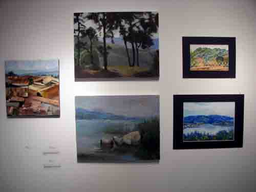 Landscape paintings of Rawanda