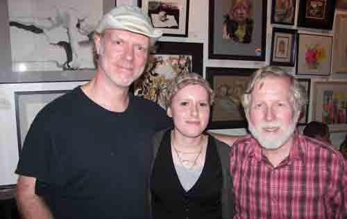 Karl Olsen, Susan Stromquist and Mike Guinn