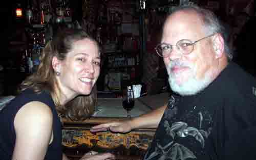 Sarah Olsen with Anders Hansen @ Dirty Franks.