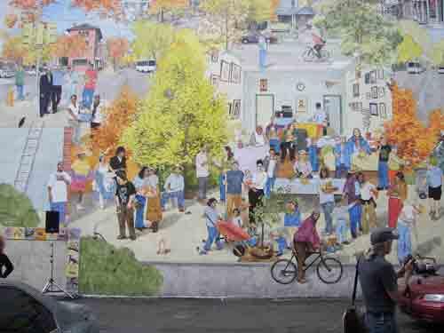 David Quinn's mural @ 47th & Baltimore.
