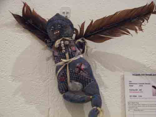 Francine Strauss' Totem Fetish Doll, 2003.