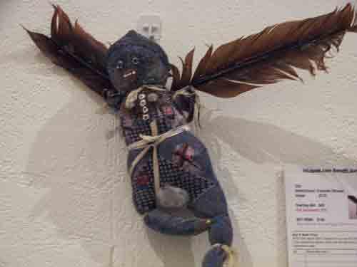 Francine Strauss' Totem Fetish Doll, 2003.