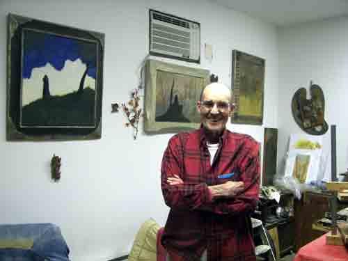 Painting master, Francis Tucker.