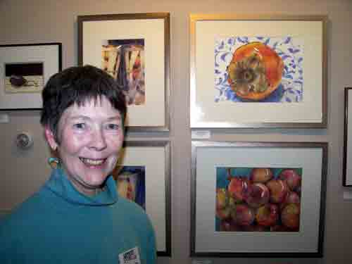 Artist Gail Bracegirdle @ Artists' Gallery.