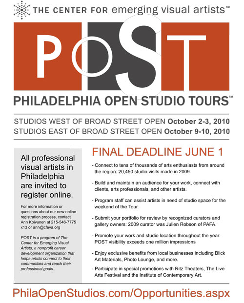 2010 Philadelphia Open Studio Tours