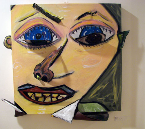 """Rosalind Bloom & Sharri Jerue,""""Faces and Figures"""", Curated by Dr. Debra Miller"""