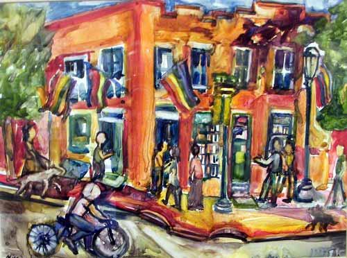 Twelve @ 12th Street Coffee - Mina Smith-Segal & Morris Klein