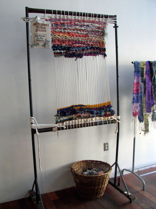 Handmade by the Homeless - Kathryn Pannepacker and Leslie Sudock Open Textile Studio, Art on South Street
