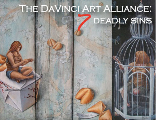 Da Vinci Art Alliance - 7 Deadly Sins @ Noyes Museum of Art, Hammonton NJ