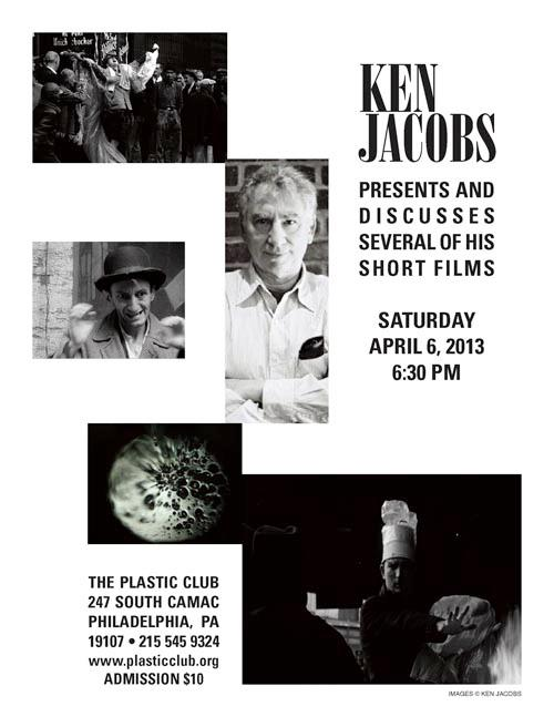 Ken Jacobs at The Plastic Club