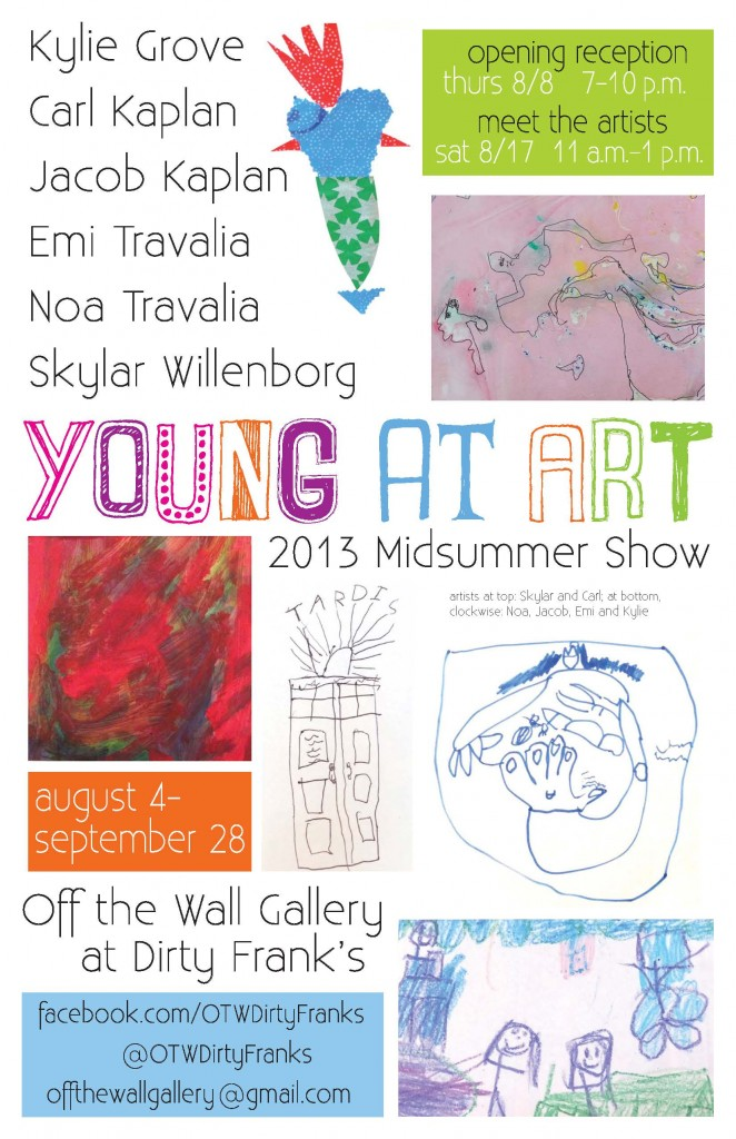 Young at Art, Off the Wall Gallery at Dirty Franks