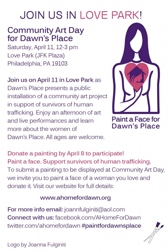 Paint a Face for Dawn's Place