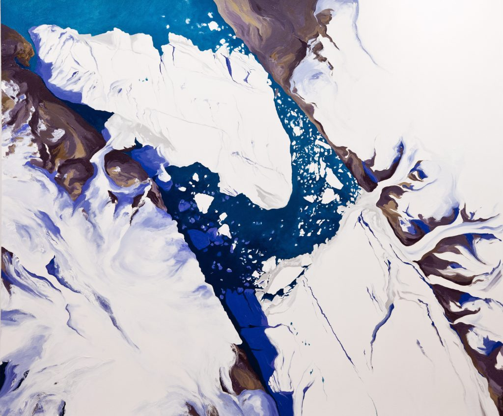 Diane Burko, Rowan University Art Gallery