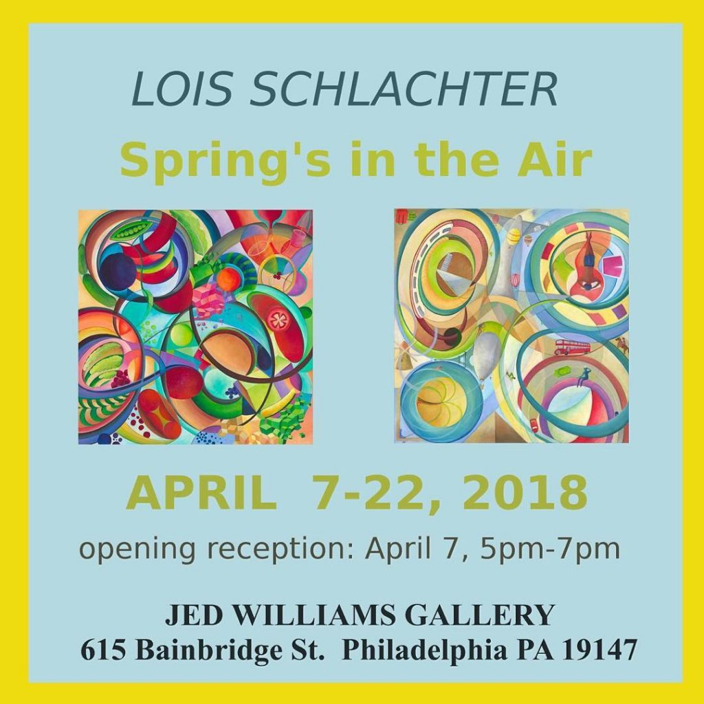 Lois Schlachter, Jed Williams Gallery