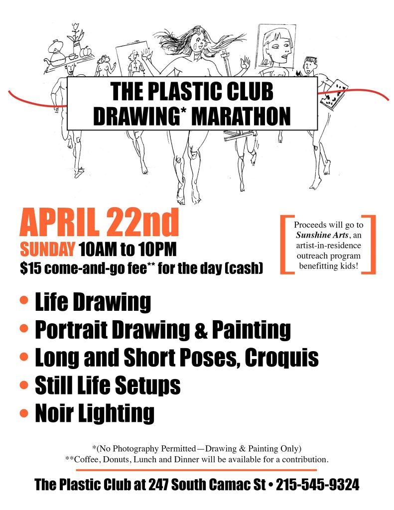 Plastic Club, Drawing Marathon