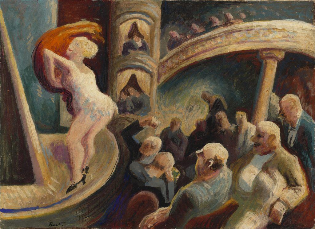 Modern Times - Thomas Hart Benton - Burlesque