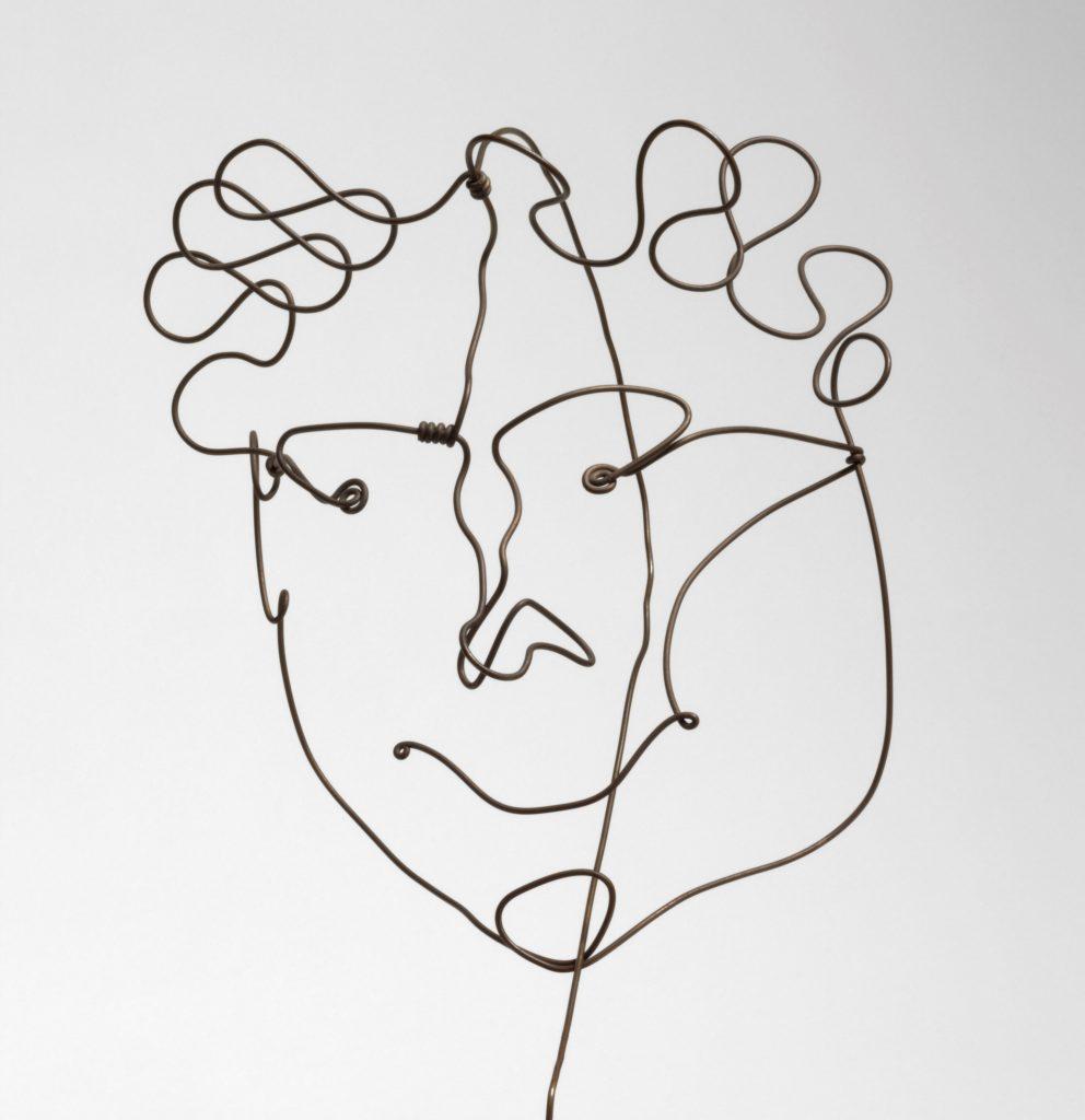 Modern Times, Alexander Calder, Portrait of Carl Zigrosser