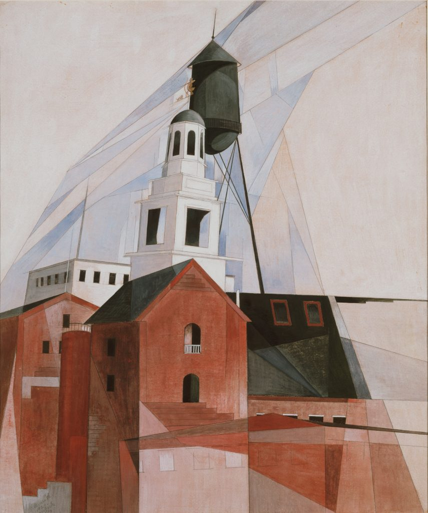 Modern Times, Charles Demuth, Lancaster (In the Province No. 2)