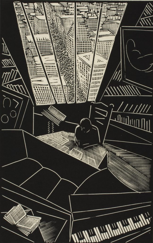Modern Times, Wharton Esherick, Of a Great City