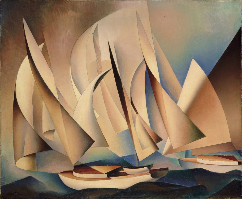 Modern Times, Charles Sheeler, Pertaining to Yachts and Yachting