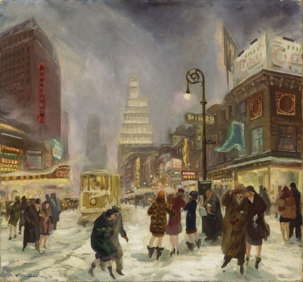 Modern Times, John Sloan, The White Way