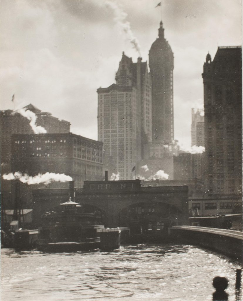 Modern Times, Alfred Stieglitz, The City of Ambition