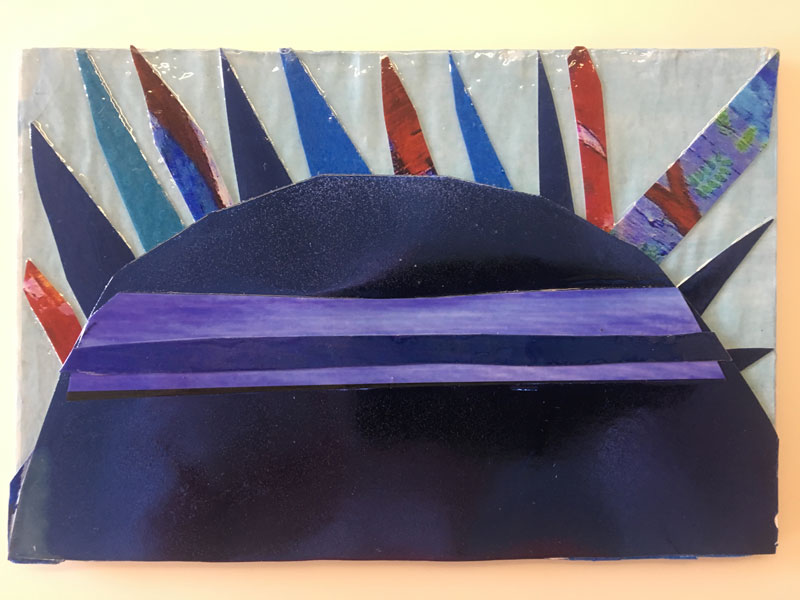 Kind of Blue: Postcard Show, 1241 CARPENTER STUDIOS + ARTSPACE 1241