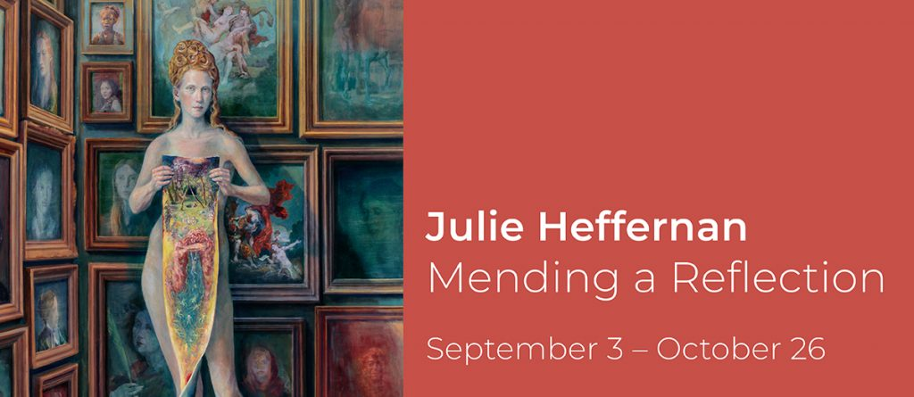 Mending A Reflection, Julie Heffernan, Rowan University Art Gallery